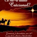 Concert colinde: Ce ne-a adus Crăciunul?