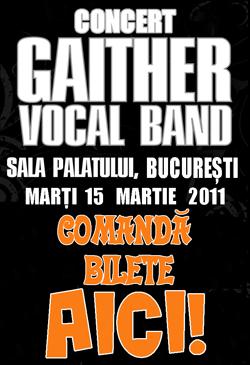 Comandă bilete pentru concertul Gaither Vocal Band pe Știri Creștine