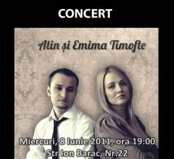 Concert cu Alin si Emima Timofte