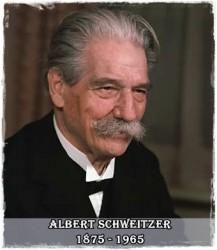 O predică vie – Albert Schewitzer
