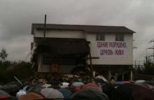 Biserica, clădirea demolată, trăieşte!
