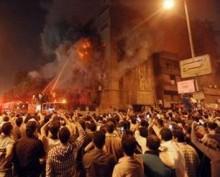 Libia: Islamiștii au dat foc unei biserici creștine