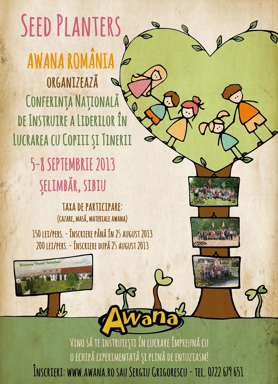 Conferinţa Naţională Awana SeedPlanters 2013