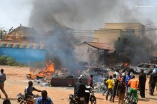 Şapte biserici incendiate în Niger