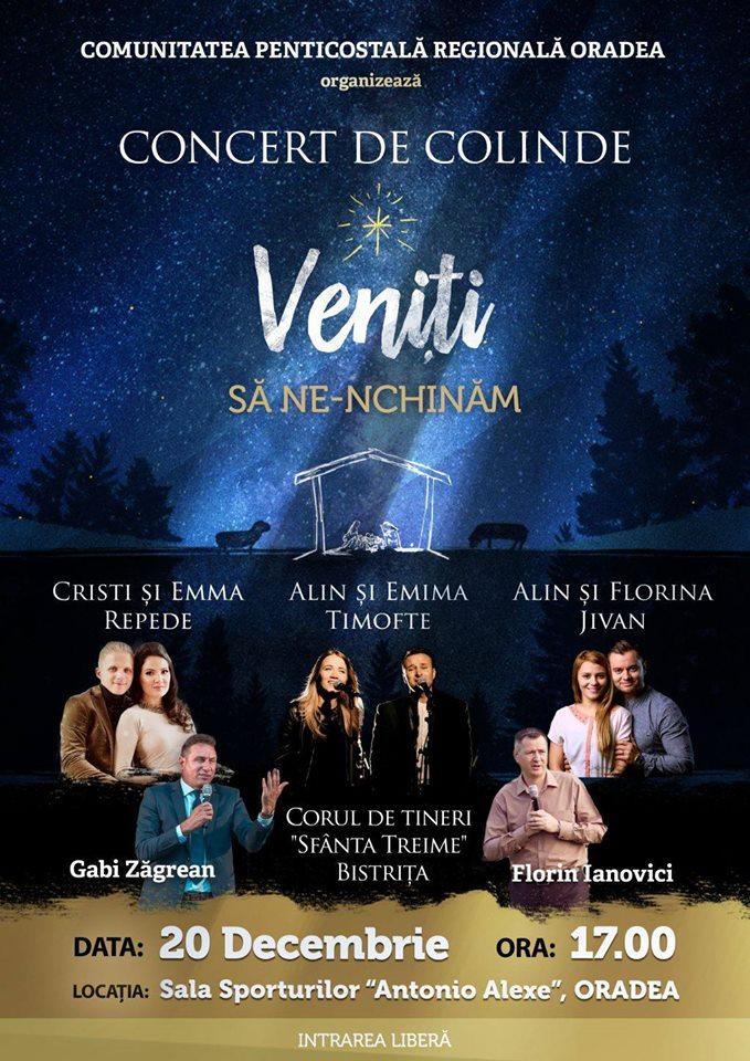 Concert de Colinde la Sala Sporturilor, Oradea