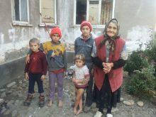 Situaţia a patru copii crescuţi de bunica lor